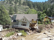 Colorado Flood Washed Out Foundatio