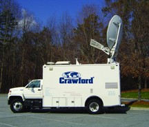 Crawford Satellite Truck