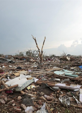 Major damage' as huge tornado rips through neighborhoods...