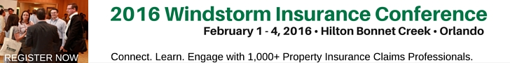 2016 Windstorm Insurance Conference